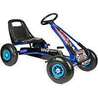 "bopster® Coche de pedales ""Go-Kart"" con ruedas hinchables"
