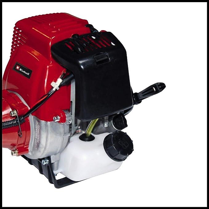 Einhell GC-BC 31-4 S 700W Gasolina Negro, Rojo - Cortacésped (2,5 mm, 4 m, 7000 RPM, Negro, Rojo, 48 cm, 31 cm³)
