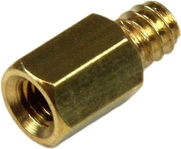 StarTech.com Metal Jackscrew Standoffs #6-32 - Jackscrew standoff - 0.2 in (pack of 50) - SCREWNUTM