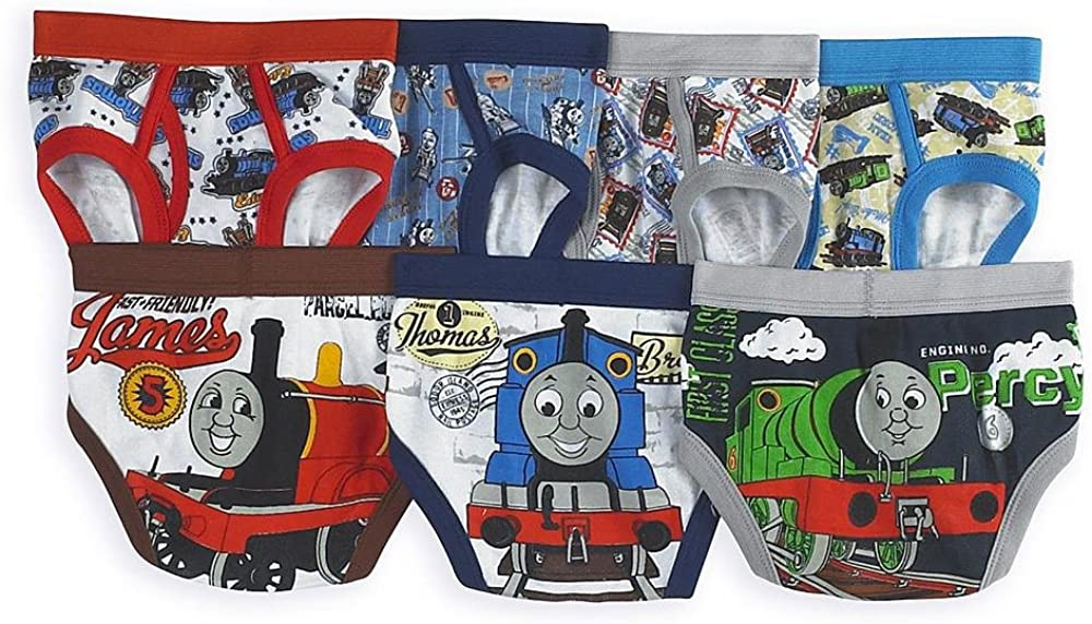 Thomas The Tank Engine Train Toddler Boys 7 Pack Underwear Briefs /…
