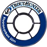 TroutHunter Fluorocarbon Fly Fishing Tippet, 3 Pack