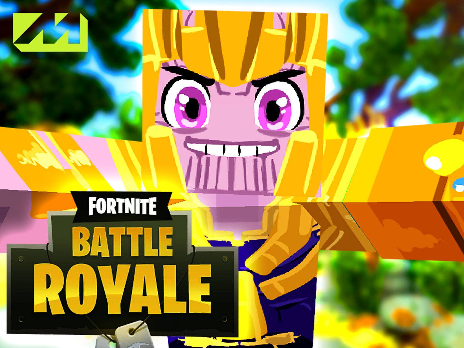 Amazon com: Clip: Fortnite Battle Royale: Newscapepro, Machinima