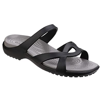 5696ae193a9f Crocs Women Meleen Twist Open Back Sandals  Amazon.co.uk  Shoes   Bags