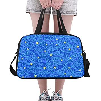 Blue Stars Weekender//Overnighter Bag