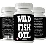 Wild Fish Oil Caps, Sustainable Omega-3 DPA, EPA, DHA Oil Supplement, Friends of The Sea Certified, Ultra-Premium Burpless Formulation, Harvested From U.S. Waters (60x 1000mg Caps)