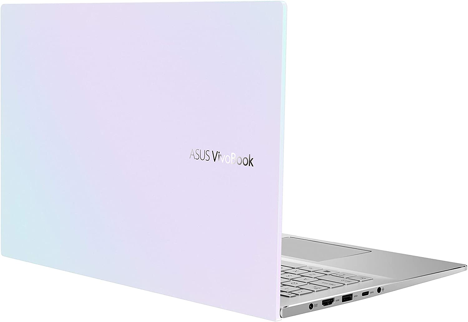 "ASUS VivoBook S15 S533 Thin and Light Laptop, 15.6"" FHD Display, Intel Core i5-10210U CPU, 8GB DDR4 RAM, 512GB PCIe SSD, Windows 10 Home, Dreamy White, S533FA-DS51-WH"