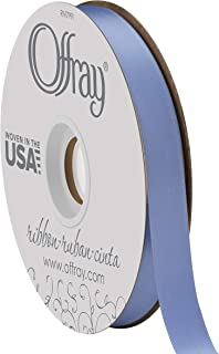 product image for Double Face Satin Ribbon, 50 Yards, True Blue