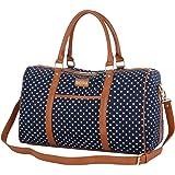 254a1126dcf6e BAOSHA HB-25 Frauen Damen Canvas Travel Duffel Bag Segeltuch Reisetaschen  Handgepäck Weekender Tasche für