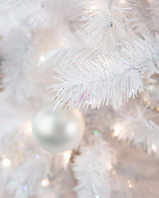 Amazon.com: treetopia invierno blanco árbol de Navidad ...