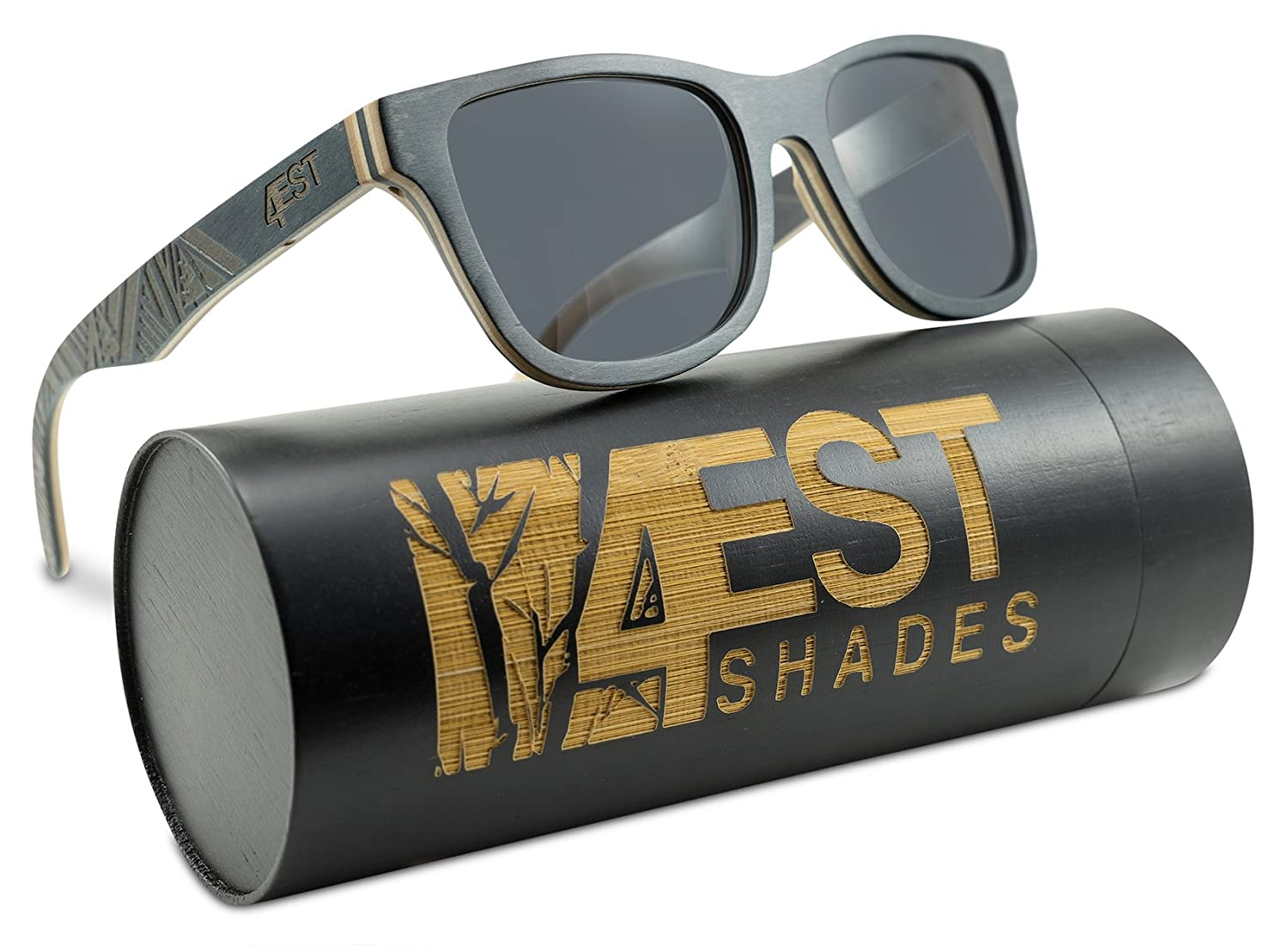 Wood Sunglasses made from Maple/Cherry 4est Shades Update