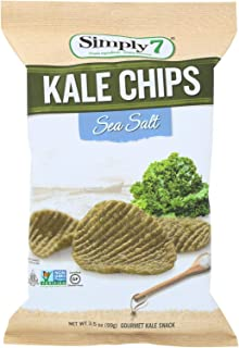 product image for Simply 7 Kale Chips - Sea Salt - Case of 12 - 3.5 oz.