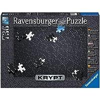 Ravensburger 15260 - KRYPT Black Puzzle 736pc Jigsaw Puzzle