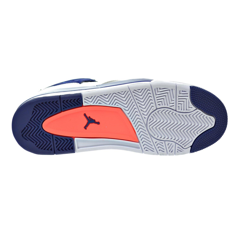 newest 1e12c 03b67 Amazon.com   Jordan Air 4 Retro GG Big Kid s Shoes White Hyper Orange Deep  Royal Blue Wolf Grey 487724-132 (6 M US)   Basketball