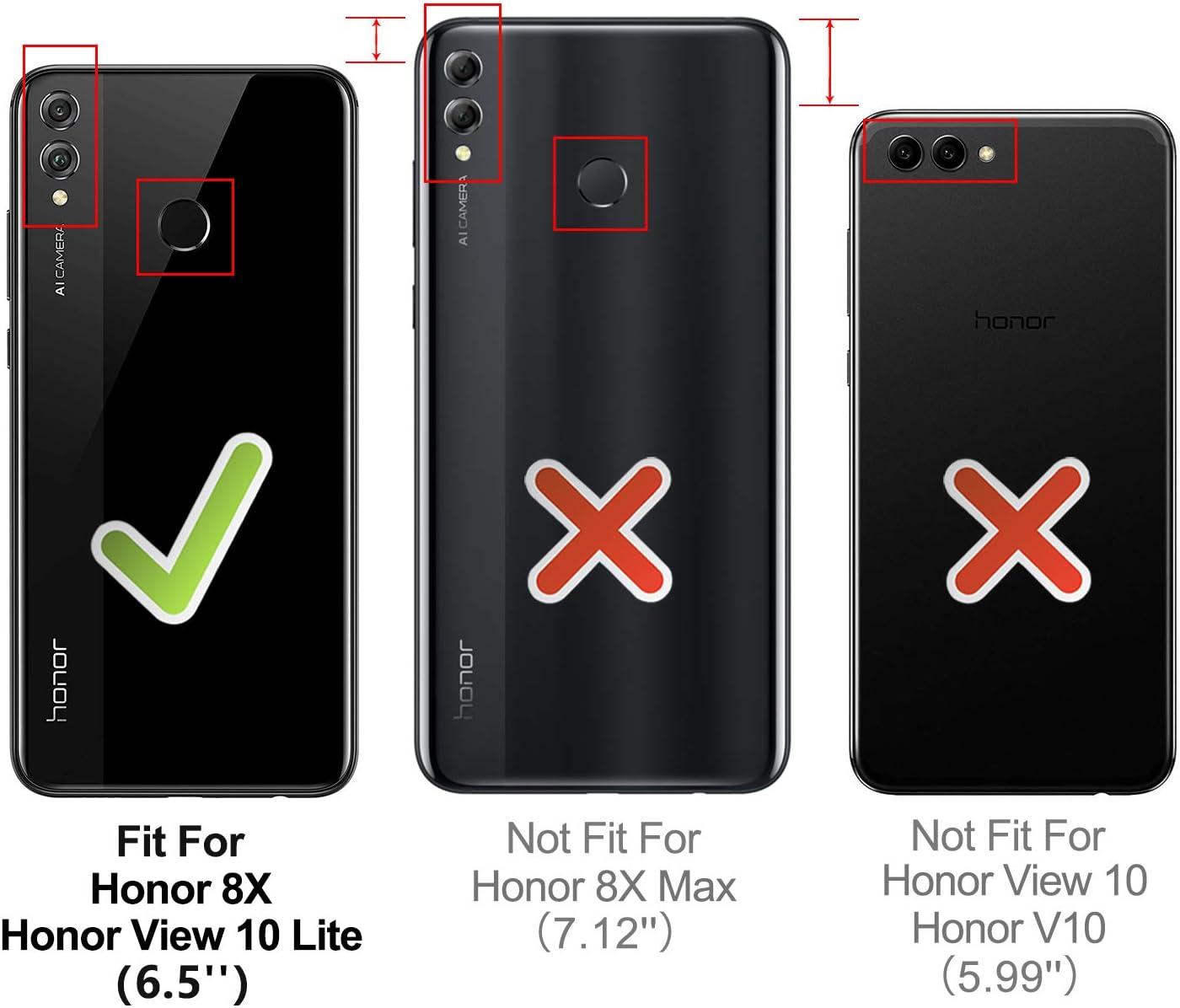 HOOMIL Cuero Premium Funda para Huawei Honor 8X / Honor View 10 ...