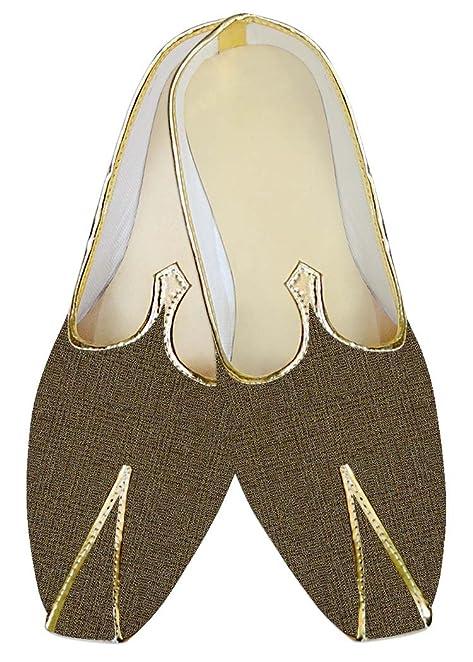 Mens Wine Polyester Wedding Shoes Checks Pattern MJ10488
