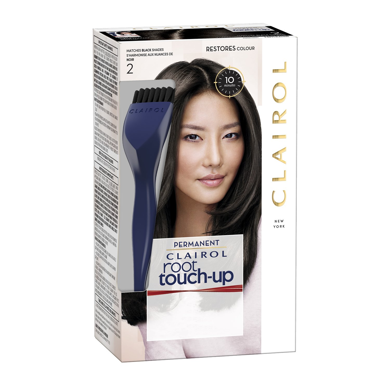 Clairol - Root Touch-up Permanent Hair Color, Black Coty