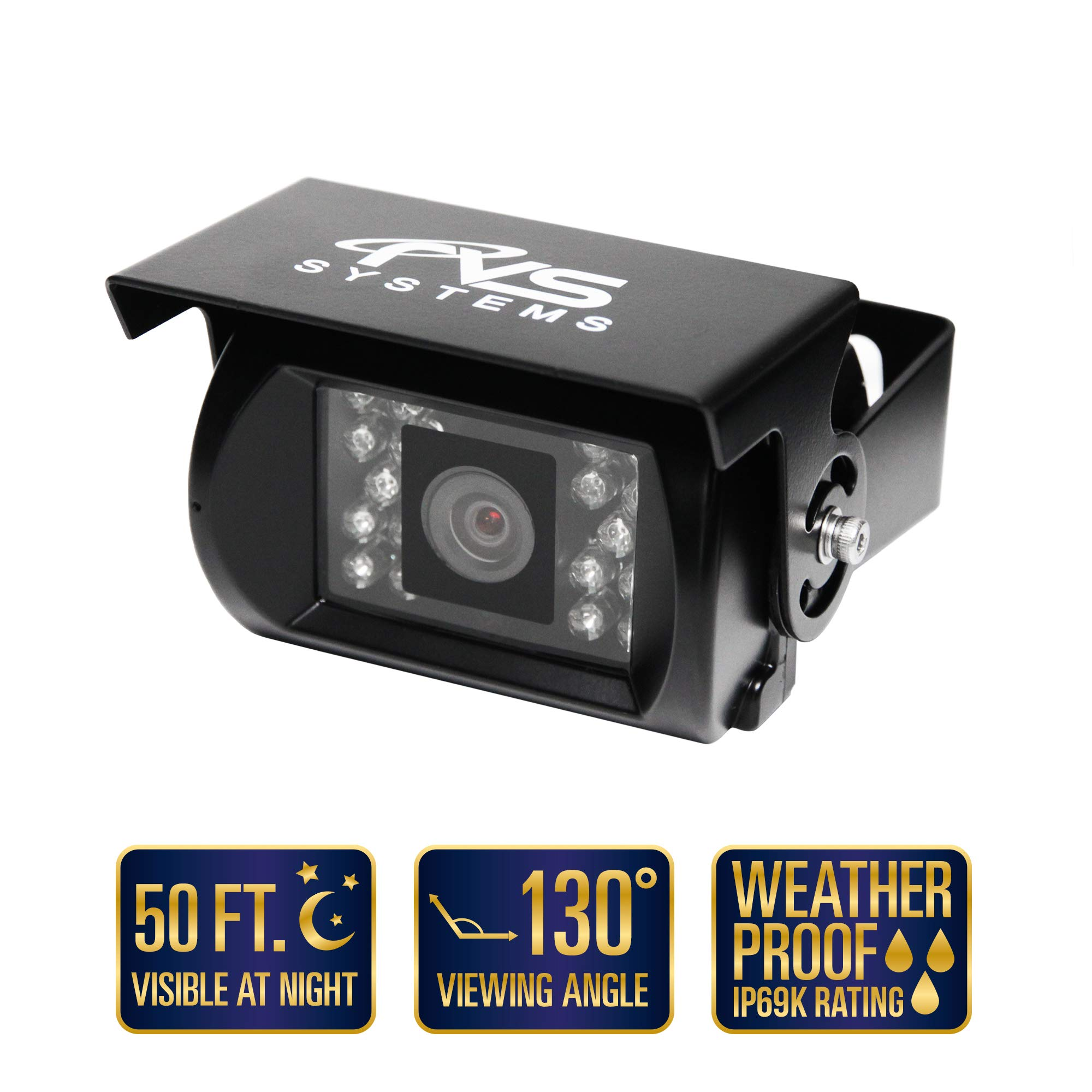 7'' Backup Camera System for RV/Truck/Bus - Waterproof Camera with Night Vision - RVS-770613-NM-01 by Rear View Safety. by Rear View Safety (Image #4)
