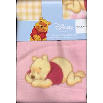 374c4828372fc Amazon.com  Disney Winnie the Pooh Tigger Fleece Blanket - Blue  Baby