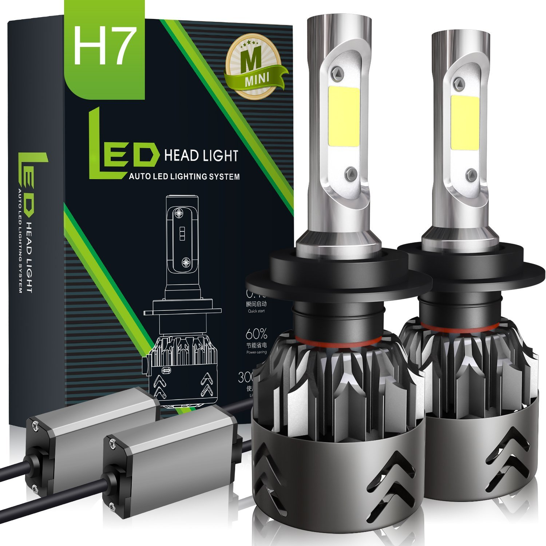 H7 LED Scheinwerferlampe Birnen WSKY Ersatzlampe Auto Scheinwerfer ...