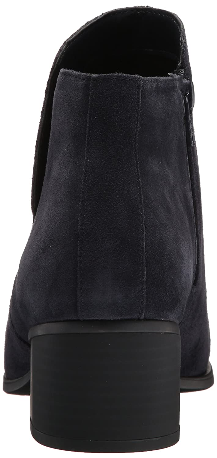 Naturalizer Women's Dawson Chelsea Boot B072551YYV 12 W US|Navy Suede