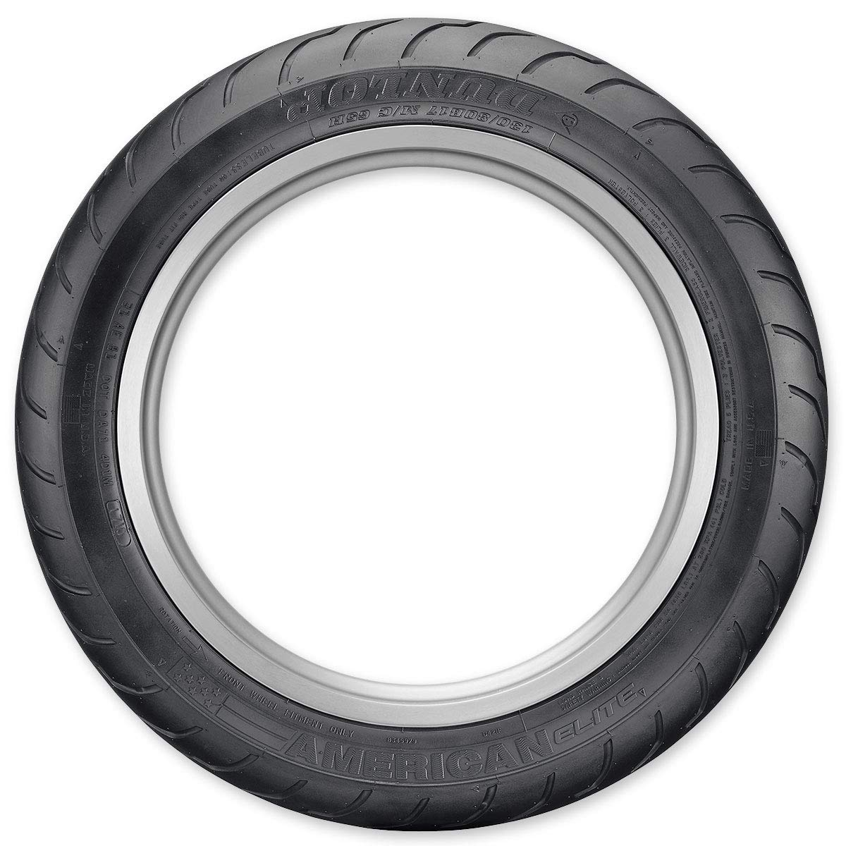 Dunlop American Elite Front Motorcycle Tires 130//80B-17 45131178