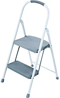 Miraculous Cosco Signature Step Stool Two Step Aluminum Step Stool With Short Links Chair Design For Home Short Linksinfo