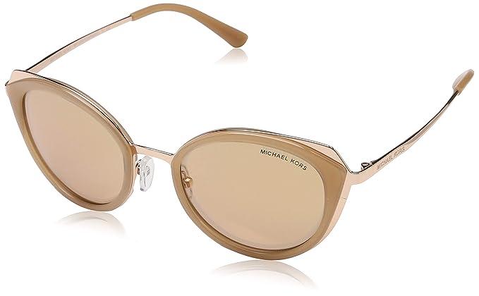 MICHAEL KORS Women's Charleston 1026R1 52 Sunglasses, Milky