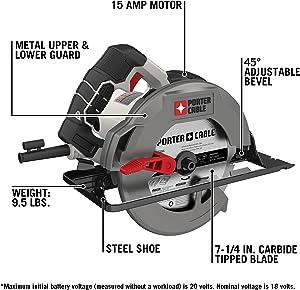Porter-Cable PCE300 Circular Saw