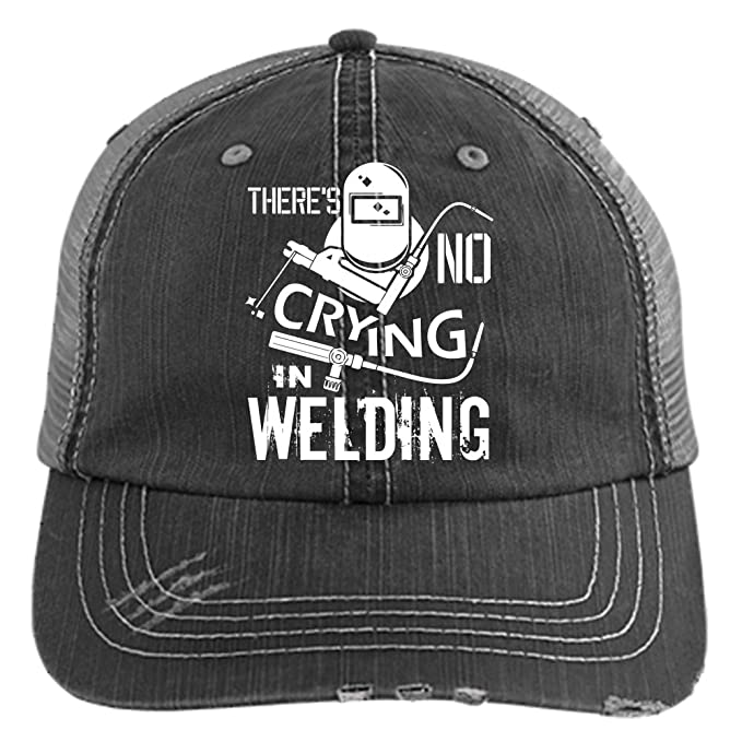 94104cac8 No Crying In Welding Hat, I Love Welding Trucker Cap (Trucker Cap ...