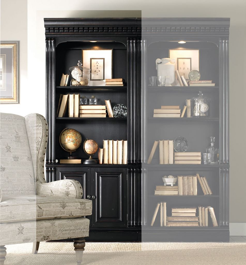 brookhaven furniture bookcase hooker bookcases
