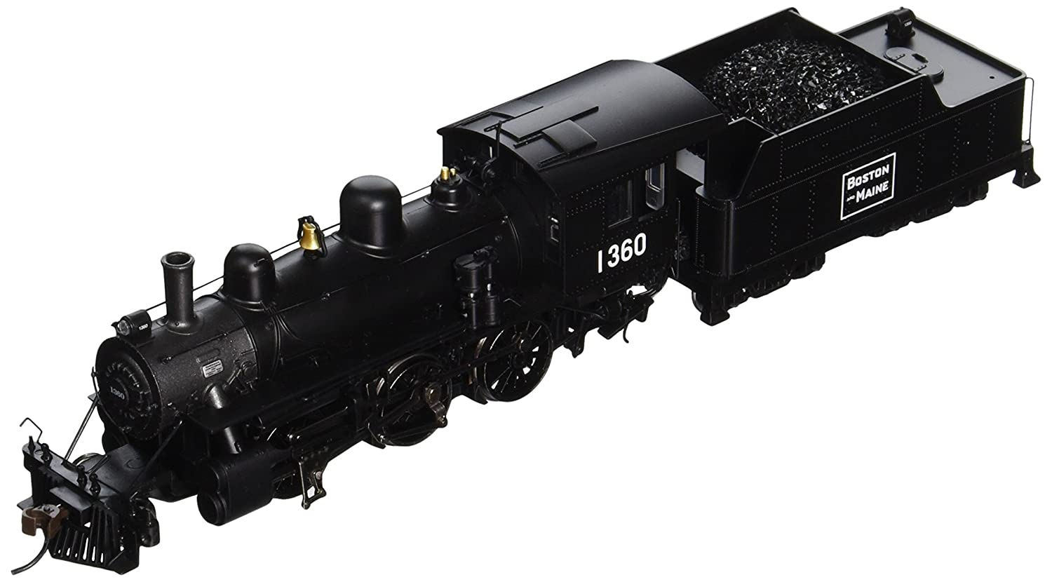 Bachmann Industries Alco 2-6-0 DCC Sound Value Equipped HO Scale #1360 Boston and Maine Locomotive 51811