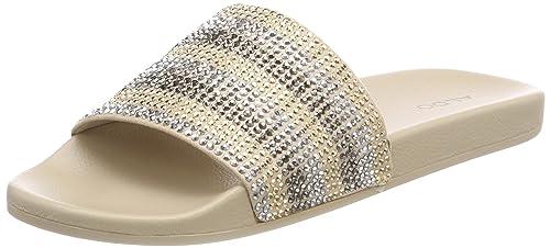 Gloari, Zapatillas de Estar por Casa para Mujer, Dorado (Gold), 37 EU Aldo