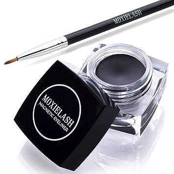b19ba668224 MoxieLash Magnetic Gel Eyeliner for Magnetic Eyelashes - No Glue & Mess  Free - Fast &