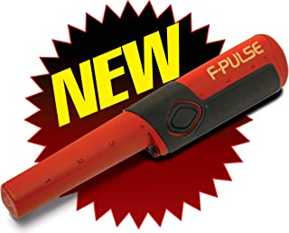 product image for Fisher F-Pulse Waterproof Pinpointer Metal Detector, Red
