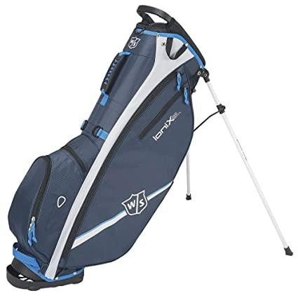 Wilson W/S Ionix SL Carry BLUWH Bolsas de Palos de Golf ...