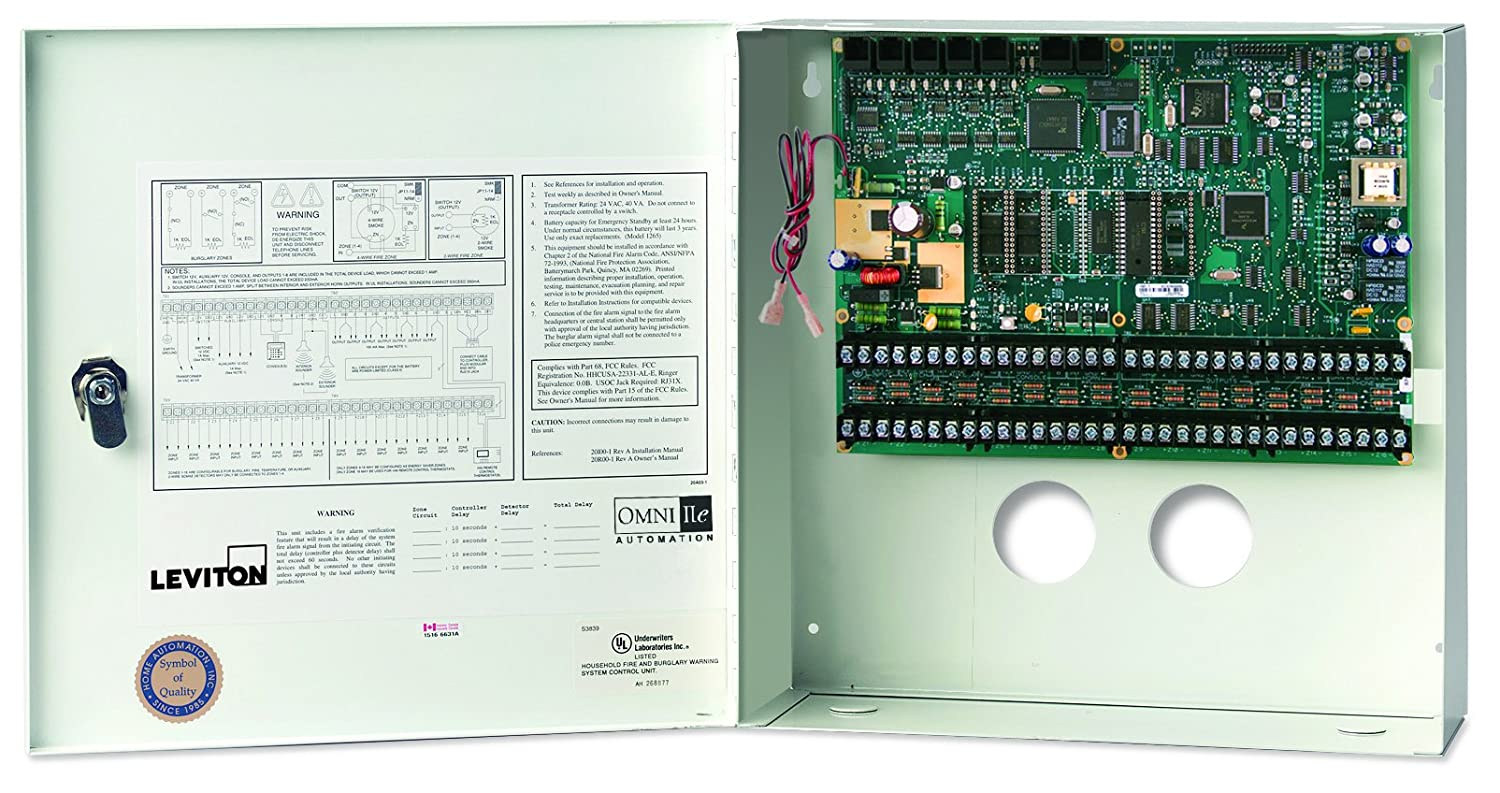 Amazon.com: Leviton 20A00-50 Omni IIe Controller in Enclosure: Home ...