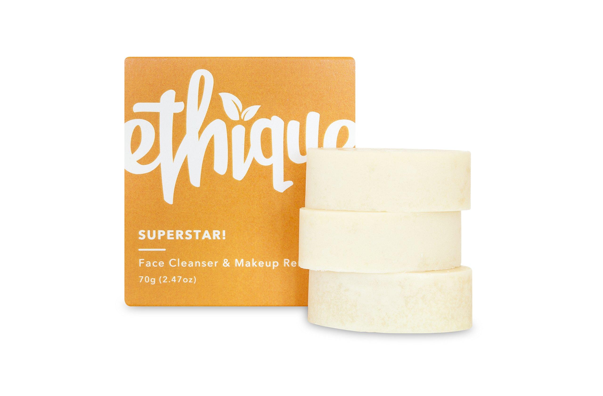 Ethique Face Cleanser & Makeup Remover, SuperStar! 2.47 oz by Ethique (Image #4)