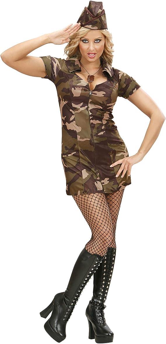 Widman S/70473 - Disfraz de militar para mujer, L , color/modelo ...