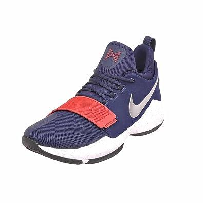 946dbe6990 ... czech nike mens pg 1 paul george basketball shoes navy blue red ebd2d  e5ef9