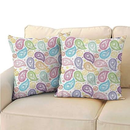 Amazon.com: Ediyuneth Decorative Hidden Zipper Cotton and ...