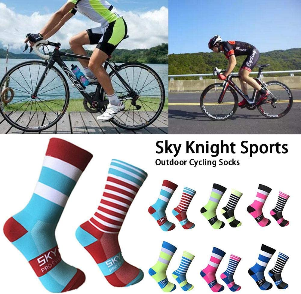 SHOH Calcetines Deportivos Ideales para Ciclismo, Hombre Y Mujer ...