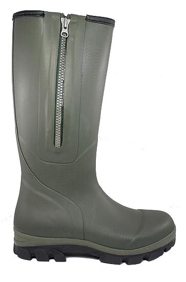 5b78f87f84d228 RAA Hunting Zip Green Stiefel Herren Design (Größe 47)  Amazon.de ...