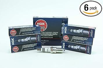 NGK IRIDIUM IX Iridium Spark Plugs TR55IX 7164 Set of 6