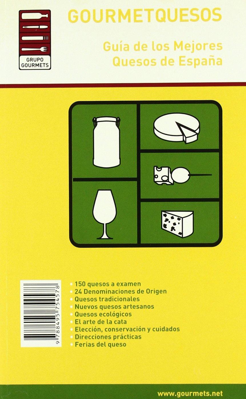 Gourmetquesos - guia de los mejores quesos de España -: Amazon.es ...