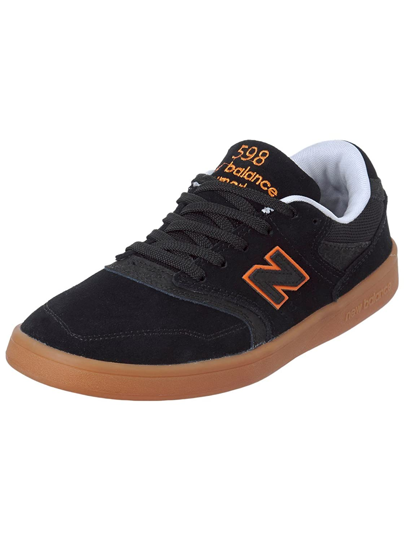 dff36e6238 New Balance Numeric Nm598bmg Nm598bmg Nm598bmg 598 nero arancia Gum ...