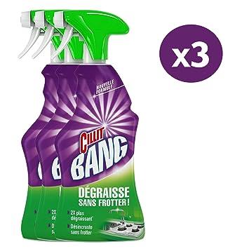 18c9fd0fcfbda Cillit Bang Dégraissant Surpuissant Spray 750 ml - Lot de 3  Amazon ...
