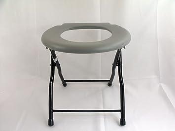Portable Camping Toilet : Amazon folding commode chair steel portable camping toilet