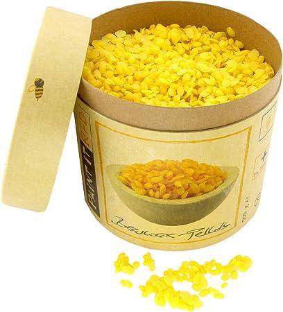 100/% rein Bienenwachs 500g gelb pharmazeutische Qualität Kosmetik /& Kerzen
