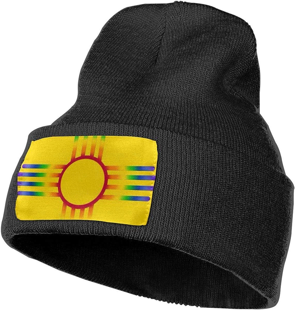 Ruin New Mexico State Flag Fashion Knitting Hat for Men Women 100/% Acrylic Acid Mas Beanie Hat