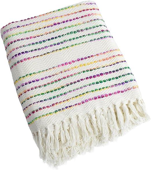 Manta para sofá, manta para cama – Allure Holland rayas mantas ...